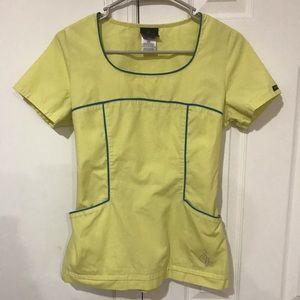 🎀 4/$15 Baby Phat Uniform Scrub Top Size XS